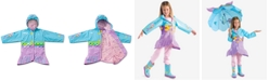 Kidorable Little Girls Mermaid All-Weather Rain Coat